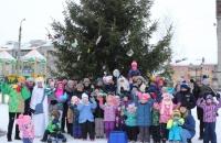 Рождественская елка в Октябрьском!