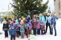 Семейная игровая программа «Мы мороза не боимся!» в Октябрьском КДК.