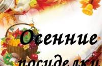 познавательно - досуговый час «Осенние посиделки»
